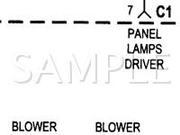 2000 Jeep Grand Cherokee Limited 4.7 V8 GAS Wiring Diagram