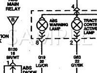 1999 Dodge Caravan  3.8 V6 GAS Wiring Diagram