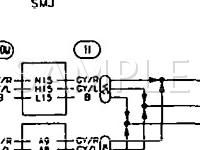 1994 Nissan Pickup  3.0 V6 GAS Wiring Diagram