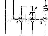 2001 Dodge RAM 2500 Pickup  5.9 L6 DIESEL Wiring Diagram