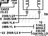 1989 Dodge Dakota Sport 3.9 V6 GAS Wiring Diagram