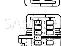 1989 GMC K3500 Pickup Sierra XC 5.7 V8 GAS Wiring Diagram