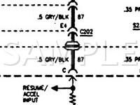 1996 Pontiac Bonneville SE 3.8 V6 GAS Wiring Diagram