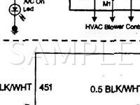 1999 GMC K1500 Suburban  6.5 V8 DIESEL Wiring Diagram