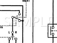 1992 Honda Accord EX 2.2 L4 GAS Wiring Diagram