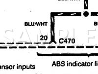 1997 Honda Accord DX 2.2 L4 GAS Wiring Diagram