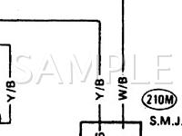 1991 Nissan D21 Pickup  3.0 V6 GAS Wiring Diagram