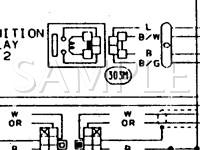 1994 Nissan Pickup SE 3.0 V6 GAS Wiring Diagram