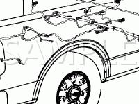 Body Components Diagram for 2007 Ford F-150 FX4 5.4 V8 GAS