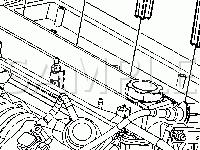 Top of the Engine Diagram for 2005 Saturn ION RED Line 2.0 L4 GAS