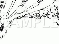 Top Of The Engine Diagram for 2006 GMC Canyon SL 2.8 L4 GAS