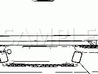 Rear Exterior Lights Diagram for 2006 GMC Canyon SL 2.8 L4 GAS