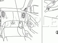 Instrument Panel Diagram for 2008 Infiniti EX35 Journey 3.5 V6 GAS