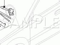 Wipers/Washers Components Diagram for 2006 KIA RIO LX 1.6 L4 GAS