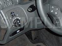 Dashboard, Behind Steering Wheel Diagram for 2001 MERCEDES-BENZ C320  3.2 V6 GAS